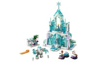 LEGO Disney Princess Elsa's Magical Ice Palace 43172 Toy Castle Building Kit with Mini Dolls Deal