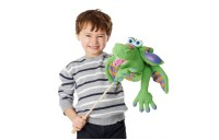 Melissa & Doug Smoulder the Dragon Puppet With Detachable Wooden Rod for Animated Gestures Deal