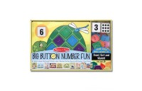 Melissa & Doug Big Button Number Fun Counting and Matching Activity Set Board Game, Kids Unisex Deal