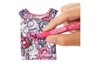 Barbie Crayola Color-in Fashions Doll & Fashions Deal
