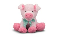Melissa & Doug Meadow Medley Piggy - Stuffed Animal With Sound Effect Deal
