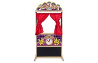 Melissa & Doug Deluxe Puppet Theater - Sturdy Wooden Construction Deal