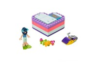 LEGO Friends Emma's Summer Heart Box 41385 Building Kit with Toy Scooter and Mini Doll 83pc Deal