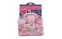 Melissa & Doug Mine to Love Doll Diaper Changing Set With Bag, Wipes, Accessories (7pc) Deal