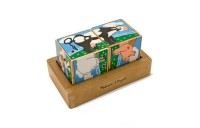 Melissa & Doug Farm Sound Blocks 6-in-1 Puzzle With Wooden Tray Deal