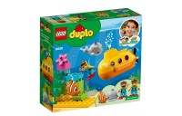 LEGO DUPLO Submarine Adventure 10910 Bath Toy Building Set for Toddlers with Toy Submarine 24pc Deal