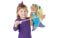 Melissa & Doug Mermaid Puppet With Detachable Wooden Rod for Animated Gestures Deal