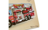 Melissa & Doug Fire Truck Sound Puzzle - 9pc Deal