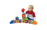 Melissa & Doug K's Kids Match and Build Soft Blocks Set Deal