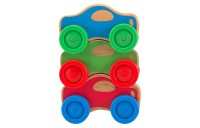 Melissa & Doug Stacking Cars Wooden Baby Toy Deal