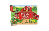 Melissa & Doug Around the Farm Sound Puzzle 8pc Deal