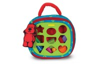Melissa & Doug K's Kids Take-Along Shape Sorter Baby Toy With 2-Sided Activity Bag and 9 Textured Shape Blocks Deal
