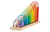 Melissa & Doug Add & Subtract Abacus - Educational Toy With 55 Colorful Beads and Sturdy Wooden Construction Deal