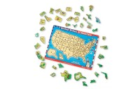 Melissa & Doug USA Map Sound Puzzle - Wooden Peg Puzzle With Sound Effects (40pc) Deal