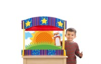 Melissa & Doug Tabletop Puppet Theater - Sturdy Wooden Construction Deal