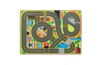 Melissa & Doug Jumbo Roadway Activity Rug With 4 Wooden Traffic Signs (79 x 58 inches) Deal