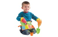Melissa & Doug Sunny Patch Happy Giddy Garden Tool Belt Set With Gloves, Trowel, Watering Can, and Pot Deal