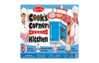 Melissa & Doug Cook's Corner Wooden Kitchen Pretend Play Set Deal