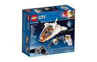 LEGO City Space Satellite Service Mission 60224 Space Shuttle Toy Building Set 84pc Deal