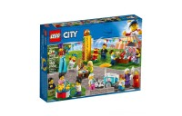 LEGO City People Pack - Fun Fair 60234 Toy Fair Building Set with Ice Cream Cart 183pc Deal