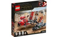 LEGO Star Wars: The Rise of Skywalker Pasaana Speeder Chase 75250 Hovering Transport Speeder Building Kit with Action Figures 373pc Deal