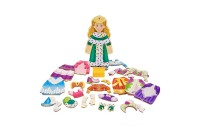 Melissa & Doug Deluxe Princess Elise Magnetic Wooden Dress-Up Doll Play Set (24pc) Deal