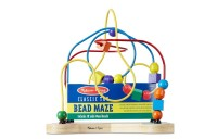 Black Friday 2020 Melissa & Doug Classic Bead Maze - Wooden Educational Toy Deal