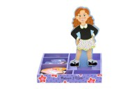 Melissa & Doug Maggie Leigh Magnetic Wooden Dress-Up Doll Pretend Play Set (25+pc) Deal