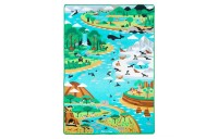 Melissa & Doug Jumbo Habitats Activity Rug, 58 x 79