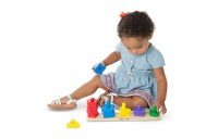 Melissa & Doug Classic Wooden Toy Bundle - Pound-A-Peg, Stack and Sort Board Deal
