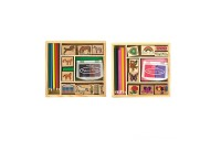 Melissa & Doug Wooden Stamp Sets (2): Friendship and Horses Deal