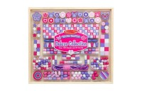 Melissa & Doug Deluxe Collection Wooden Bead Set With 340+ Beads for Jewelry-Making Deal