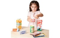 Melissa & Doug Fridge Groceries Play Food Cartons (8pc) - Toy Kitchen Accessories Deal