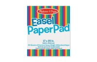 Melissa & Doug Easel Pad (17 x 20 inches) - 50 Sheets, 2-Pack Deal