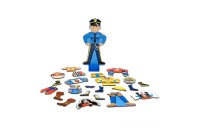 Melissa & Doug Joey Magnetic Wooden Dress-Up Pretend Play Set (25+pc) Deal