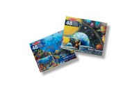 Melissa And Doug Solar System And Underwater Jumbo Floor Puzzle 48pc Deal