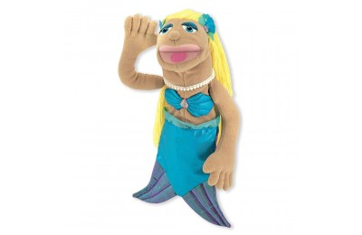 Black Friday 2020 Melissa & Doug Mermaid Puppet With Detachable Wooden Rod for Animated Gestures Deal