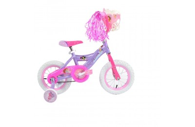 "Huffy Disney Princess Cruiser Bike 12"" - Purple, Girl's Deal"