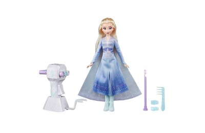 Black Friday 2020 Disney Frozen 2 Sister Styles Elsa Fashion Doll With Extra-Long Blonde Hair, Braiding Tool and Hair Clips Deal