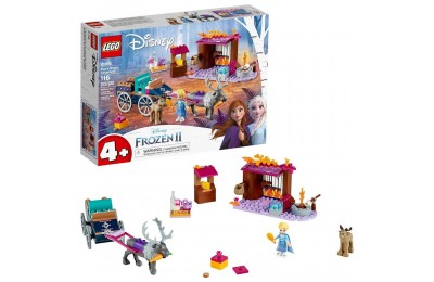 Black Friday 2020 LEGO Disney Frozen II Elsa's Wagon Carriage Adventure Building Kit and Elsa Doll 41166 Deal