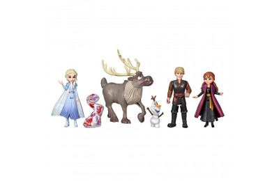 Black Friday 2020 Disney Frozen 2 Adventure Collection, 5 Small Dolls from Frozen 2 Deal