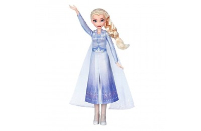 Disney Frozen 2 Singing Elsa Fashion Doll with Music - Blue Deal