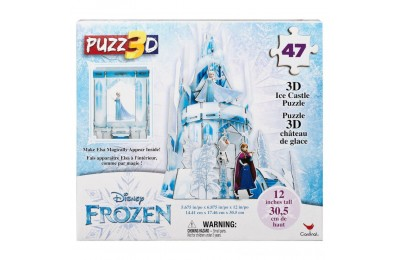 Cardinal Disney Frozen 3D Hologram Ice Castle Puzzle 47pc, Kids Unisex Deal