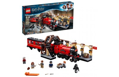 Black Friday 2020 LEGO Harry Potter Hogwarts Express Train Set with Harry Potter Minifigures and Toy Bridge 75955 Deal