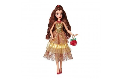 Black Friday 2020 Disney Princess Style Series - Belle Doll in Contemporary Style with Purse & Shoes Deal