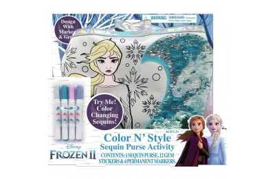 Black Friday 2020 Disney Frozen 2 Color and Style Sequin Purse Activity Set Deal