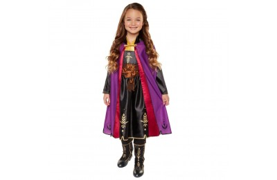 Black Friday 2020 Disney Frozen 2 Anna Travel Dress, Size: Small, MultiColored Deal