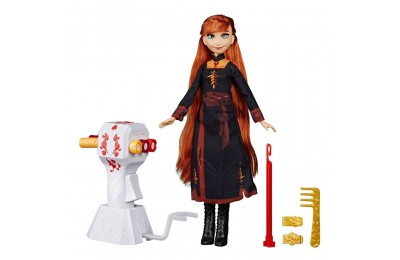 Black Friday 2020 Disney Frozen 2 Sister Styles Anna Fashion Doll With Extra-Long Red Hair, Braiding Tool and Hair Clips Deal