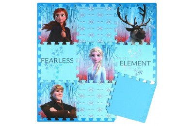 Disney Frozen 2 9pc Tile Foam Interlocking Fitness Mats Deal