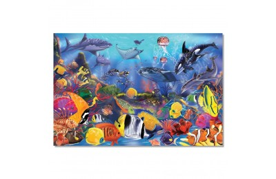 Melissa And Doug Underwater Ocean Floor Puzzle 48pc Deal